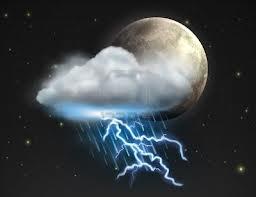 luna e fulmine